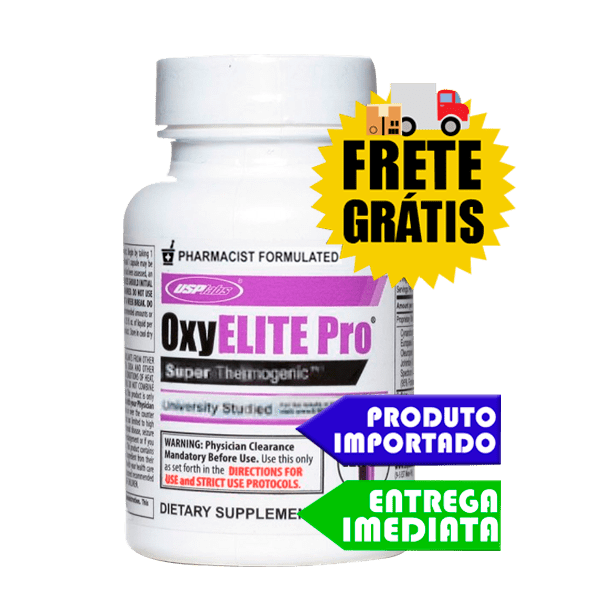 OxyElite Pro - USP labs (Importado | 90 cáps )