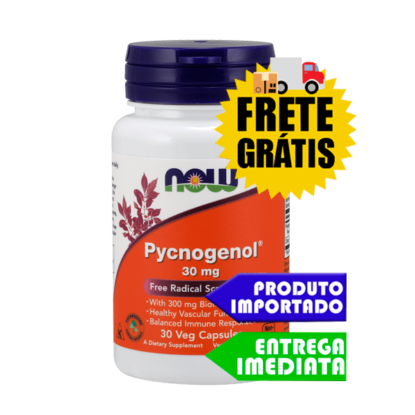 Pycnogenol - Now Foods (100 mg 60 cáps)