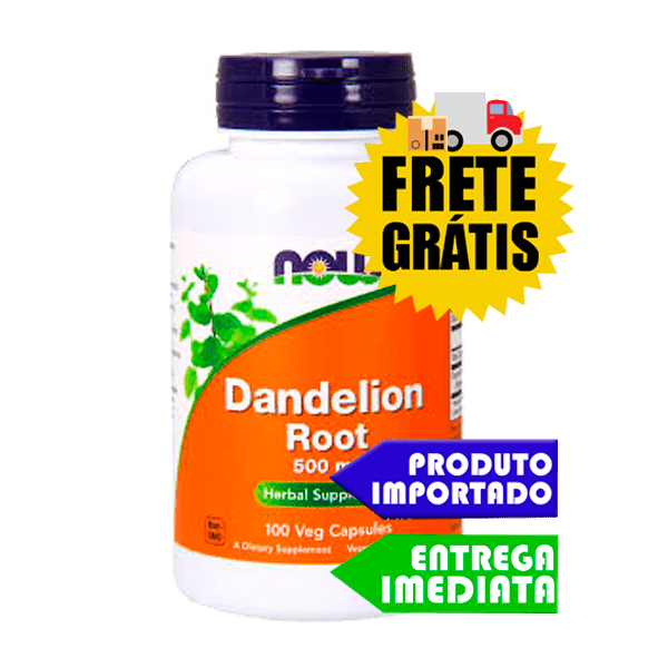 Raíz de Dente de Leão - Now Foods (500mg 100 capsulas)