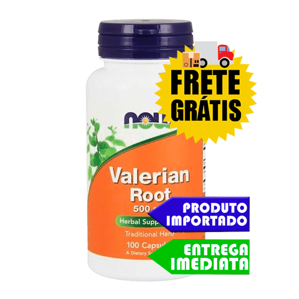 Raiz de Valeriana - Now Foods (500mg - 100caps)
