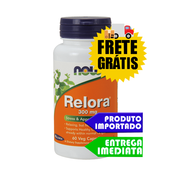 Relora - Now Foods (60 cáps)