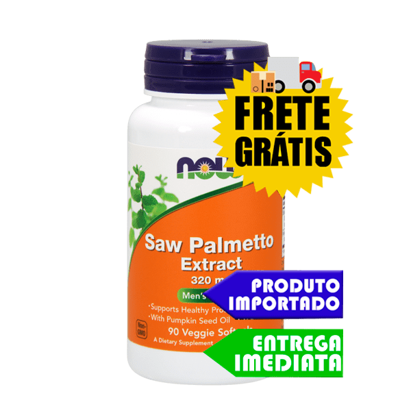 Saw Palmetto - Now Foods (90 cáps)