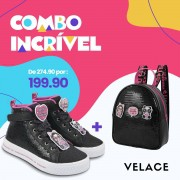 Kit Tênis Luluca + Bolsa Luluca