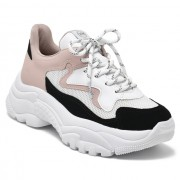 Tênis Via Marte Dad Sneaker Soft Rose -  20-10803