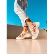 Tênis Bebecê Sneaker Feminino Estampado Floral - T1319-450
