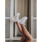 Tênis Buffalo Velace Plataforma Chunky Sneaker Feminino Branco - 9479.103