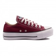 Tênis Converse Chuck Taylor All Star Plataforma Lift OX Bordo CT09630010