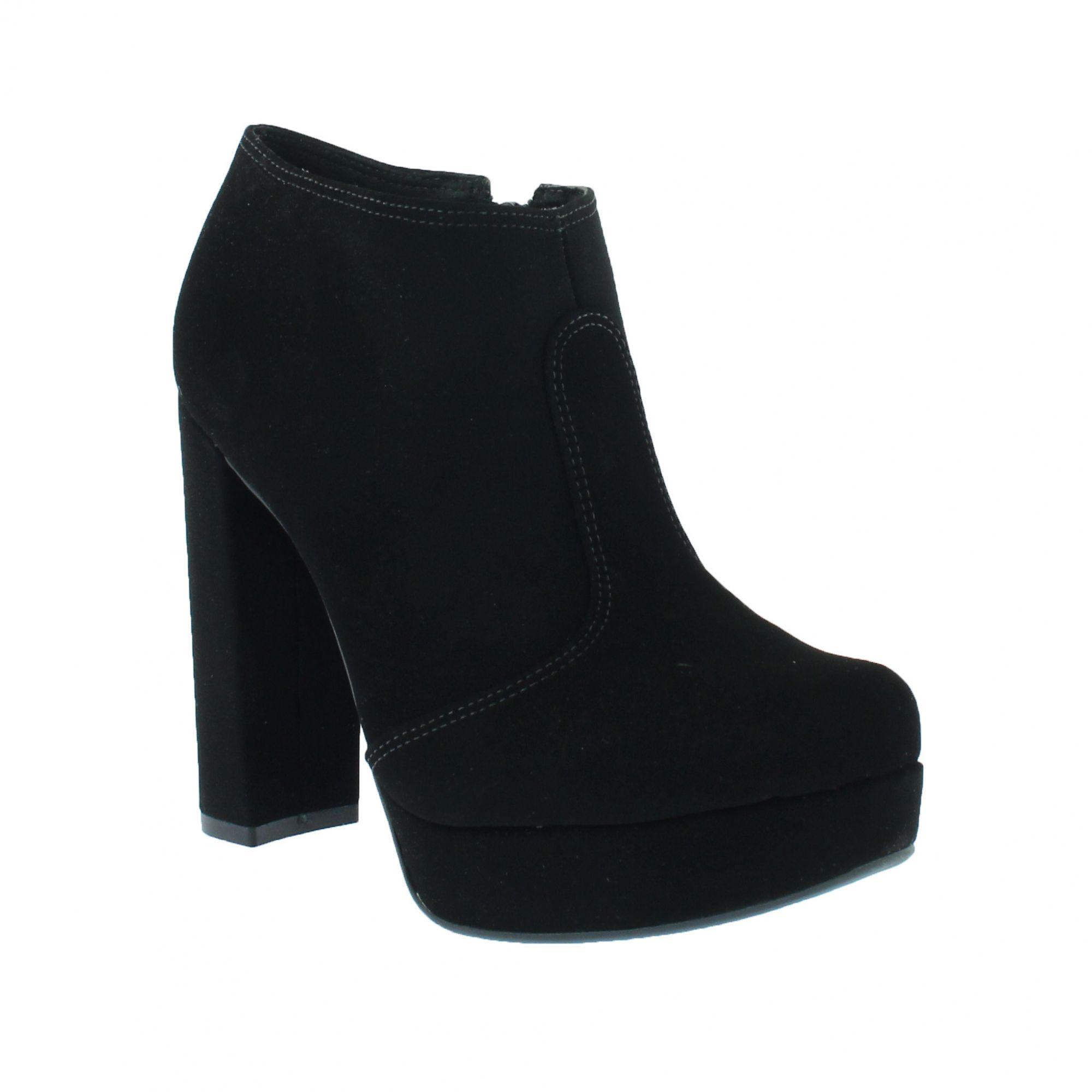 Bota Bebecê Ankle Boot Cano Curto Preto 9621-056