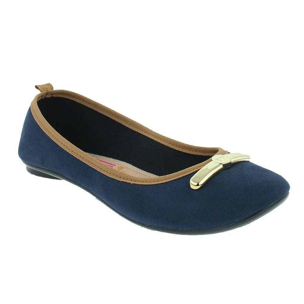 Sapatilha Moleca Feminina Azul Marinho - 5314.548