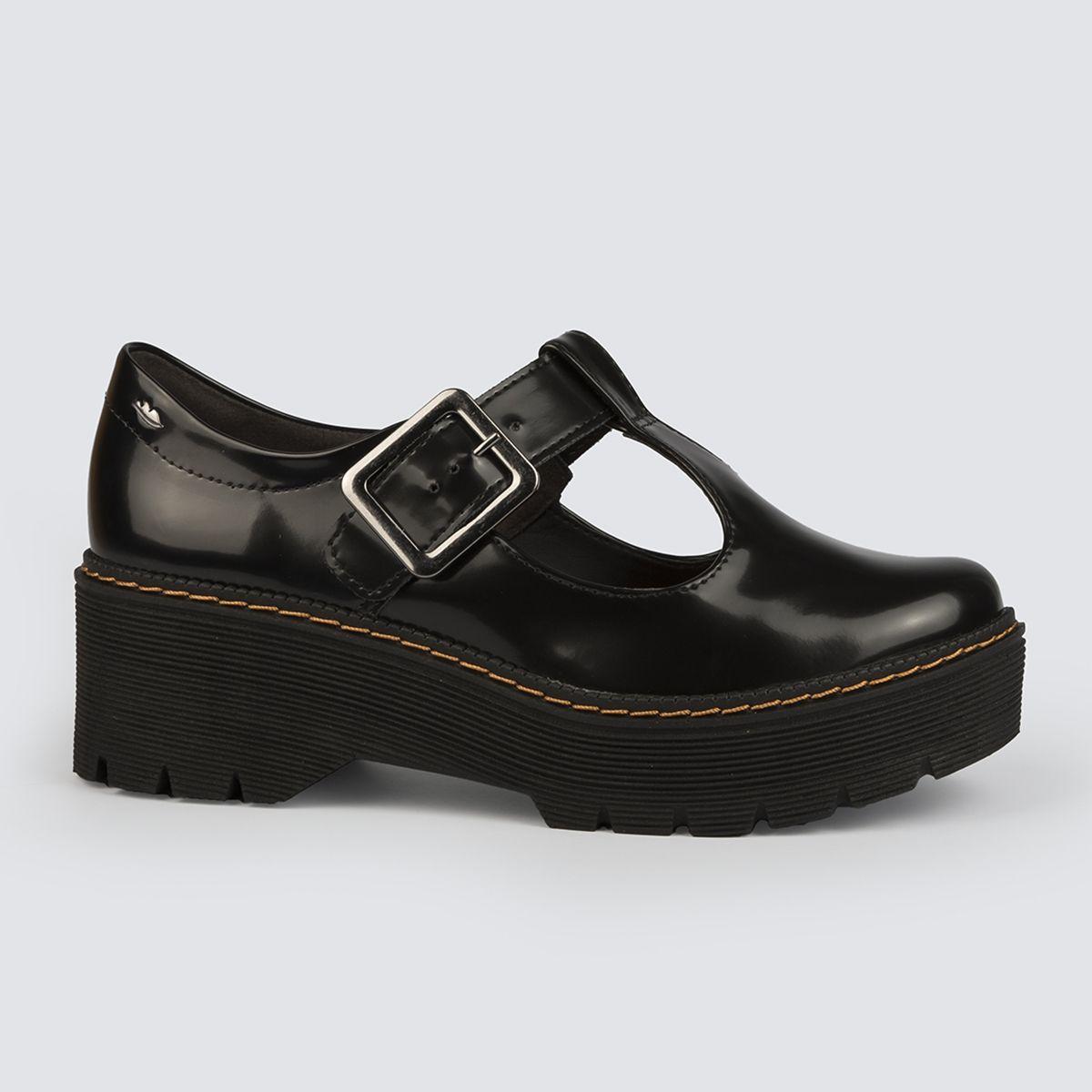 Sapato Dakota Oxford Flatform Fivela G2571
