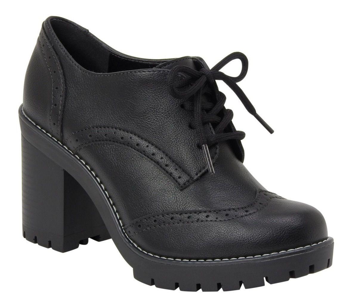 Sapato Oxford Via Marte 19-5901 Feminino