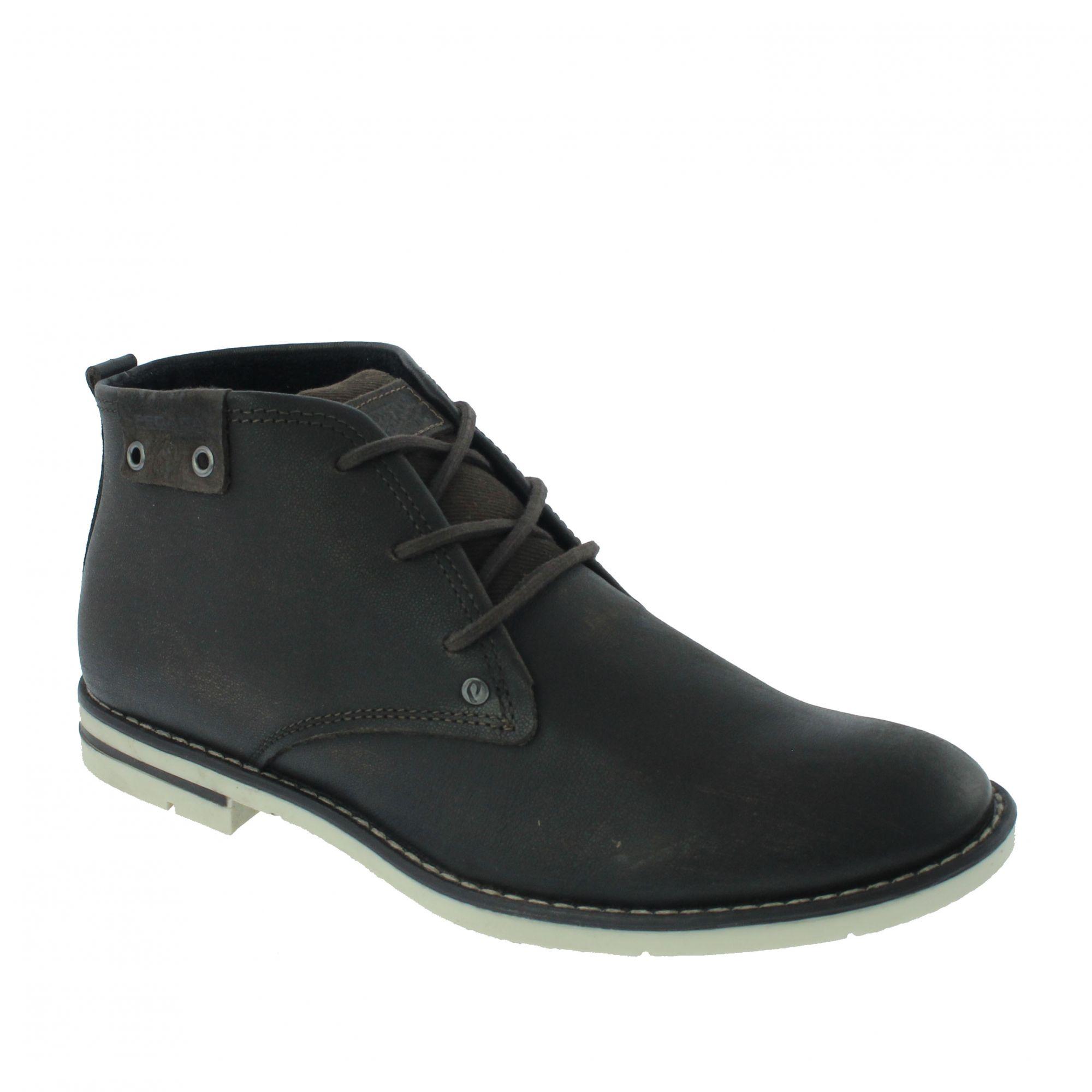 Sapato Pegada Social Couro Marrom Amortech - 121976-09