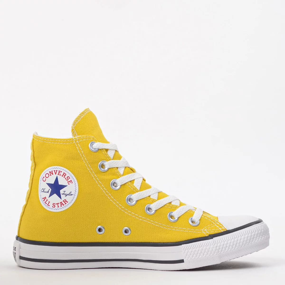 Tênis All Star Converse Chuck Taylor Cano Alto Amarelo - CT04190034