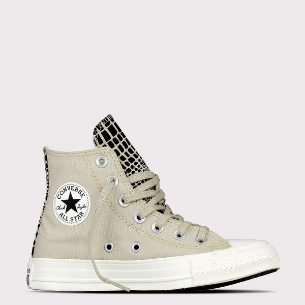 Tênis Converse Chuck Taylor All Star Hi Cano Alto Bege CT15980001