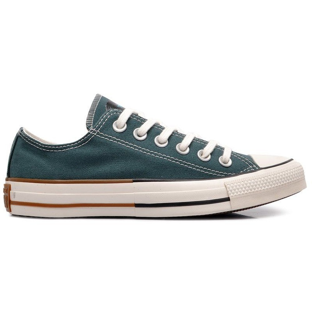Tênis Converse Chuck Taylor All Star Smile Ox Verde Escuro/Ferrugem CT14010001