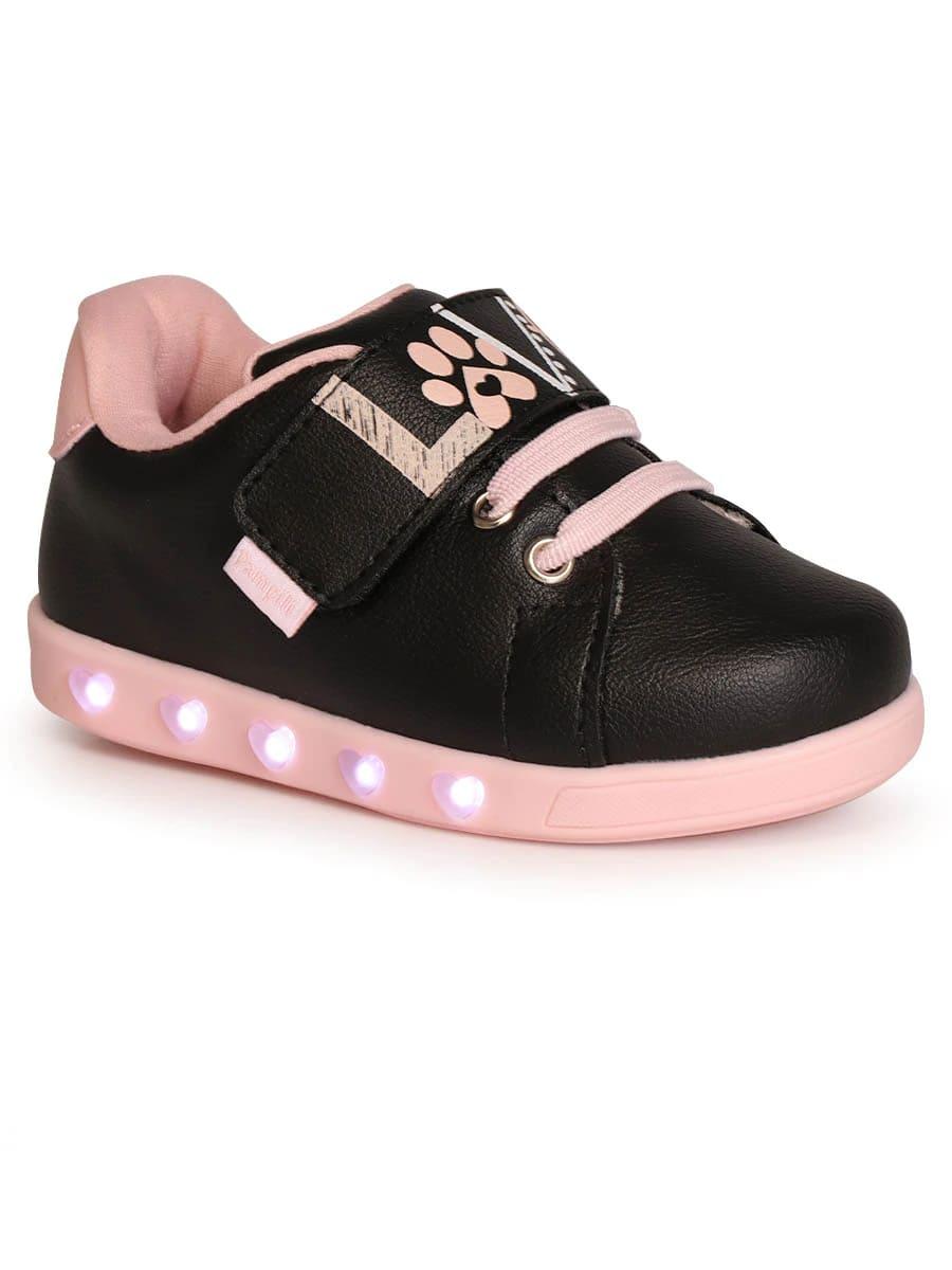 Tênis Pampili Infantil Sneaker Love com LED - 165.116