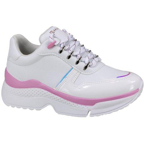 Tênis Ramarim Sneaker Feminino Branco/Rosa - 20-79202