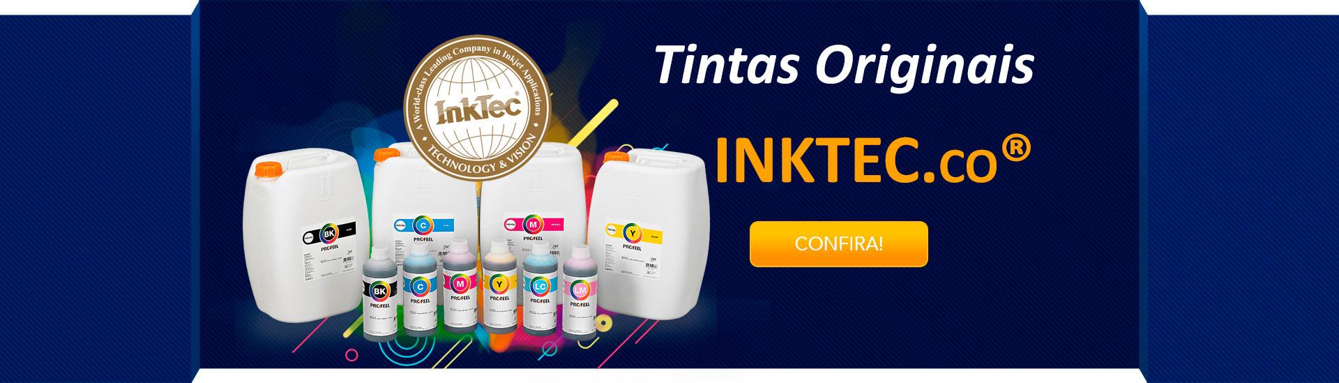 Tintas originais InkTec