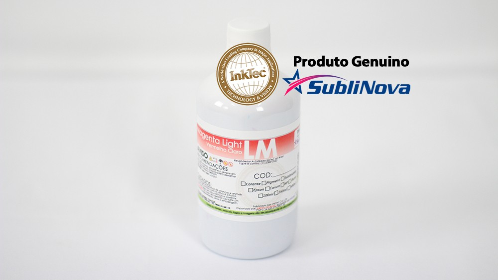 500ml Sublimática Sublinova InkTec DTI