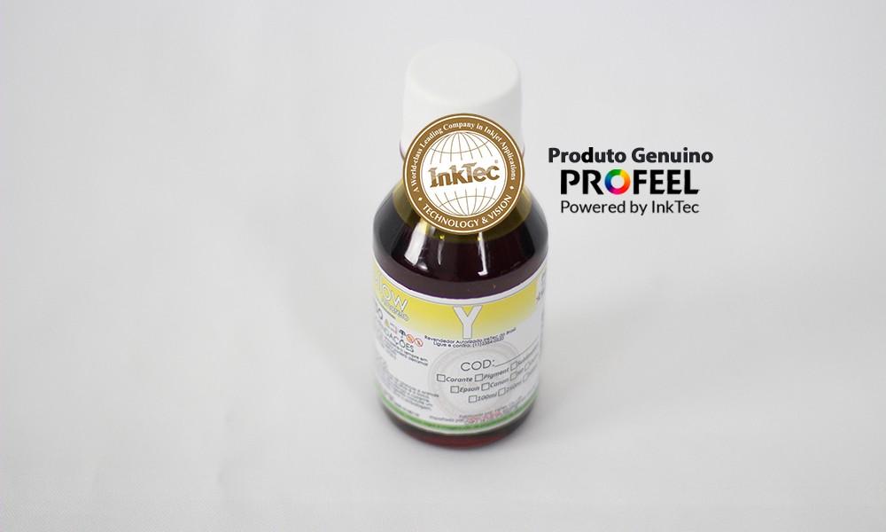 E0010 100ml Corante Yellow Profeel InkTec
