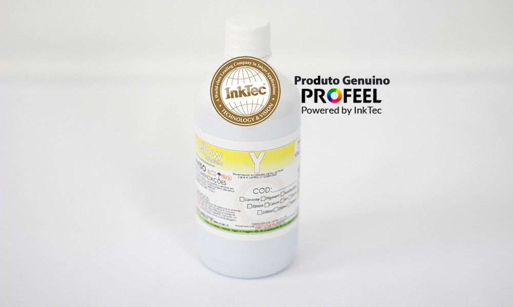 E0010 500ml Corante Yellow Profeel InkTec
