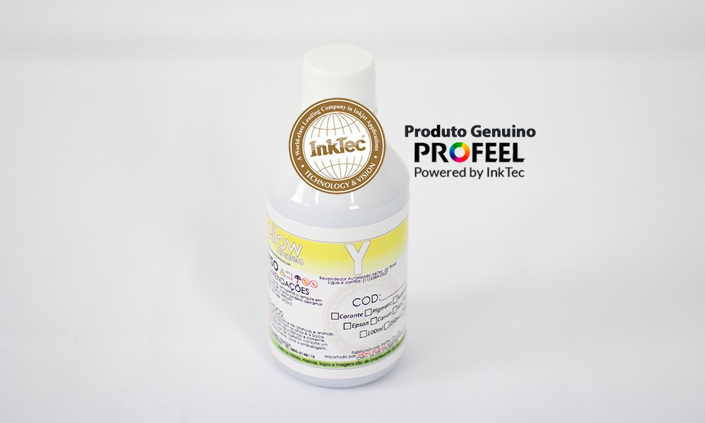 E0013 250ml Pigmentada Yellow Profeel InkTec