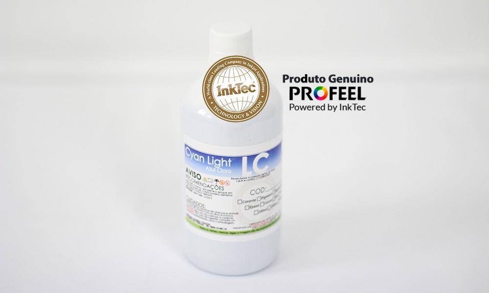 E0013 500ml Pigmentada Cyan Light Profeel InkTec