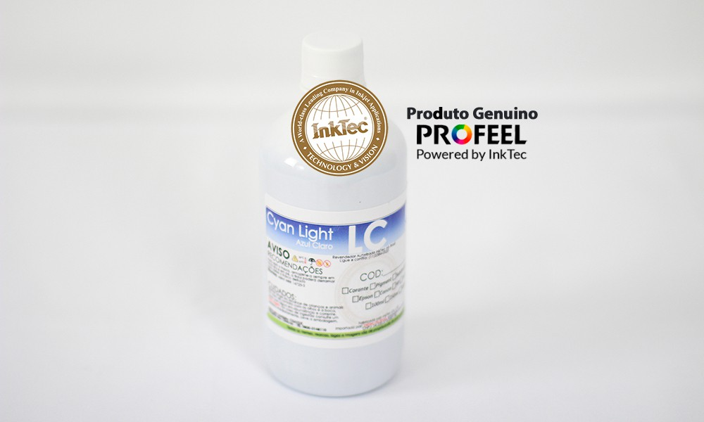 E0014 500ml Corante Cyan Light Profeel Premium InkTec