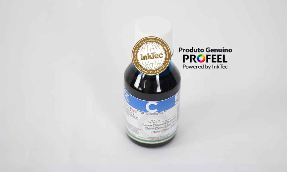 E0017 100ml Corante Cyan Profeel Premium Plus InkTec