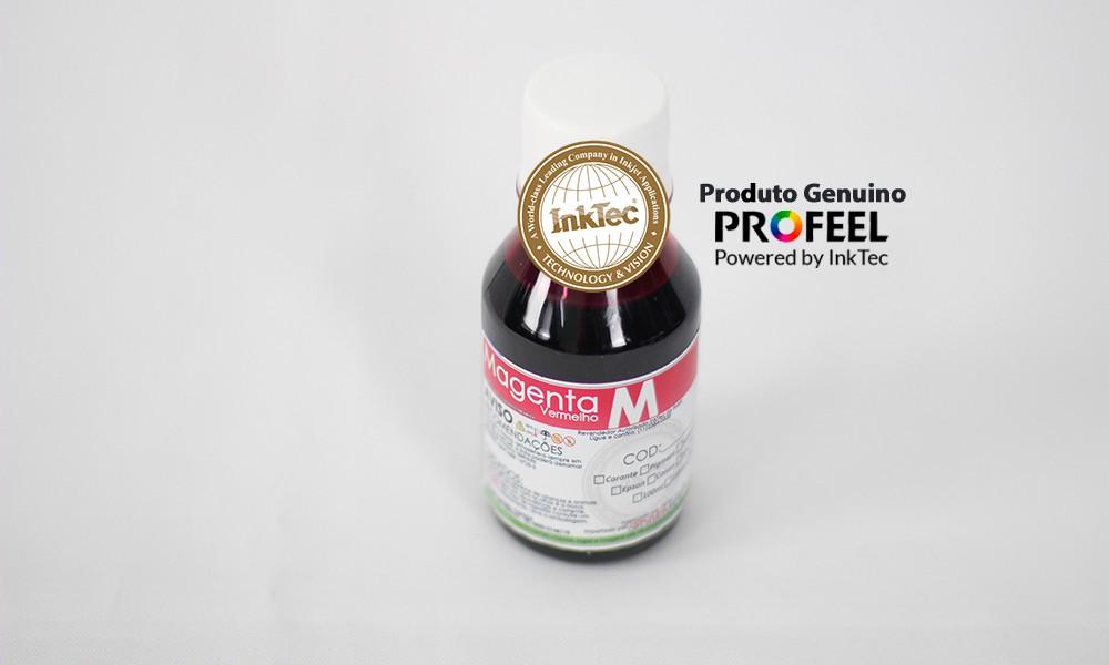 E0017 100ml Corante Magenta Profeel Premium Plus InkTec