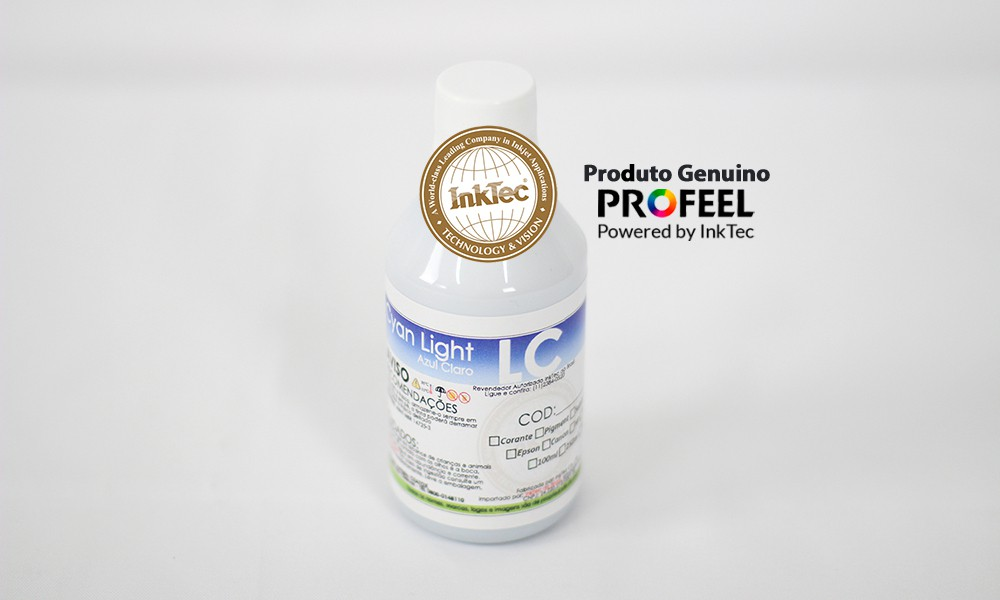 E0017 250ml Corante Cyan Light Profeel Premium Plus InkTec