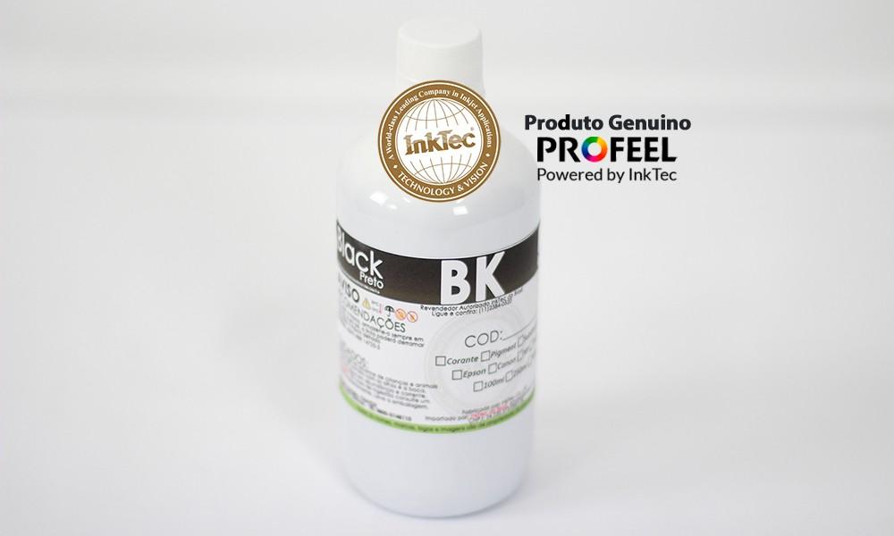 E0017 500ml Corante Black Profeel Premium Plus InkTec