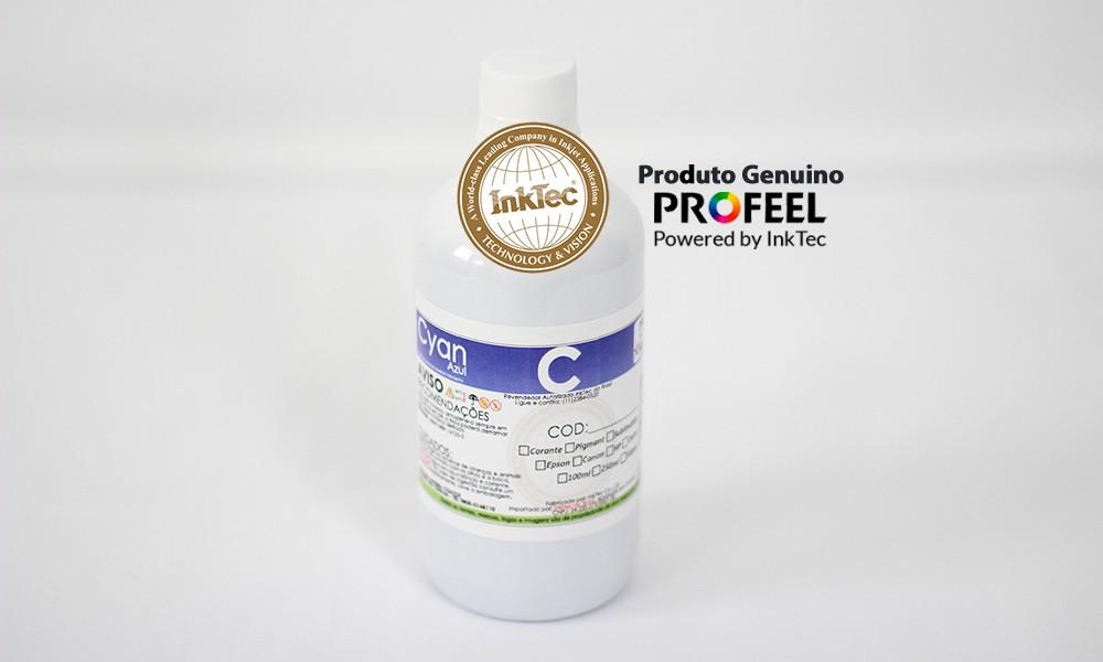 E0017 500ml Corante Cyan Profeel Premium Plus InkTec