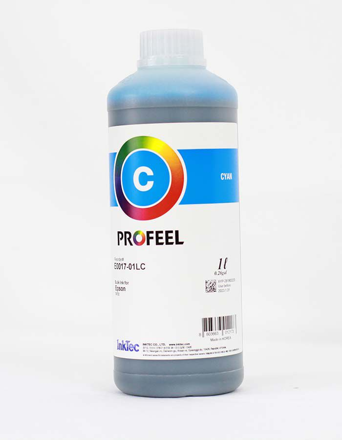E0017 Corante Cyan Inktec Profeel Premium - Litro