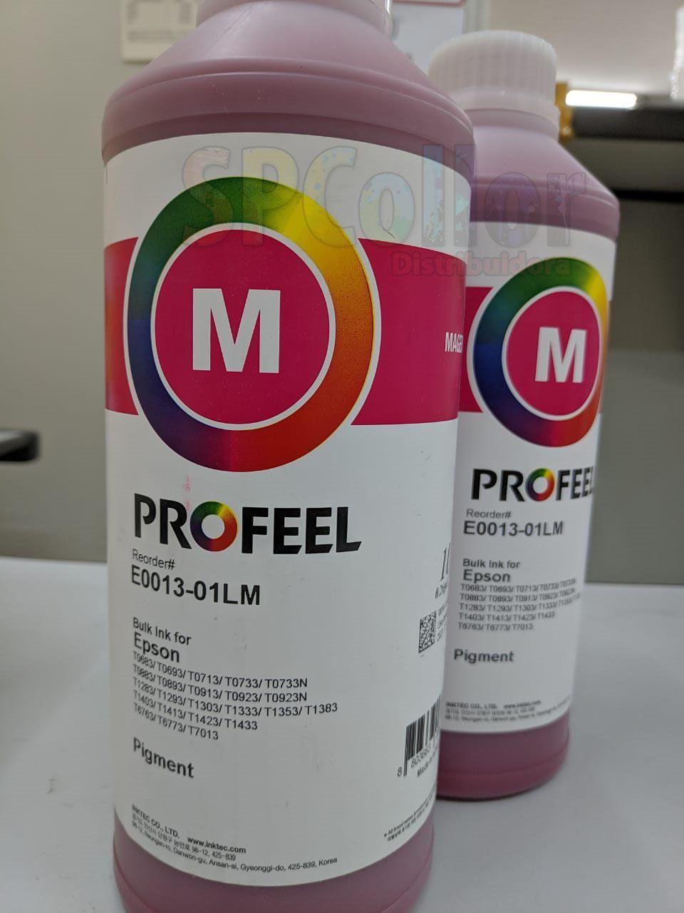 E0013 Litro Pigmentada Magenta Profeel InkTec