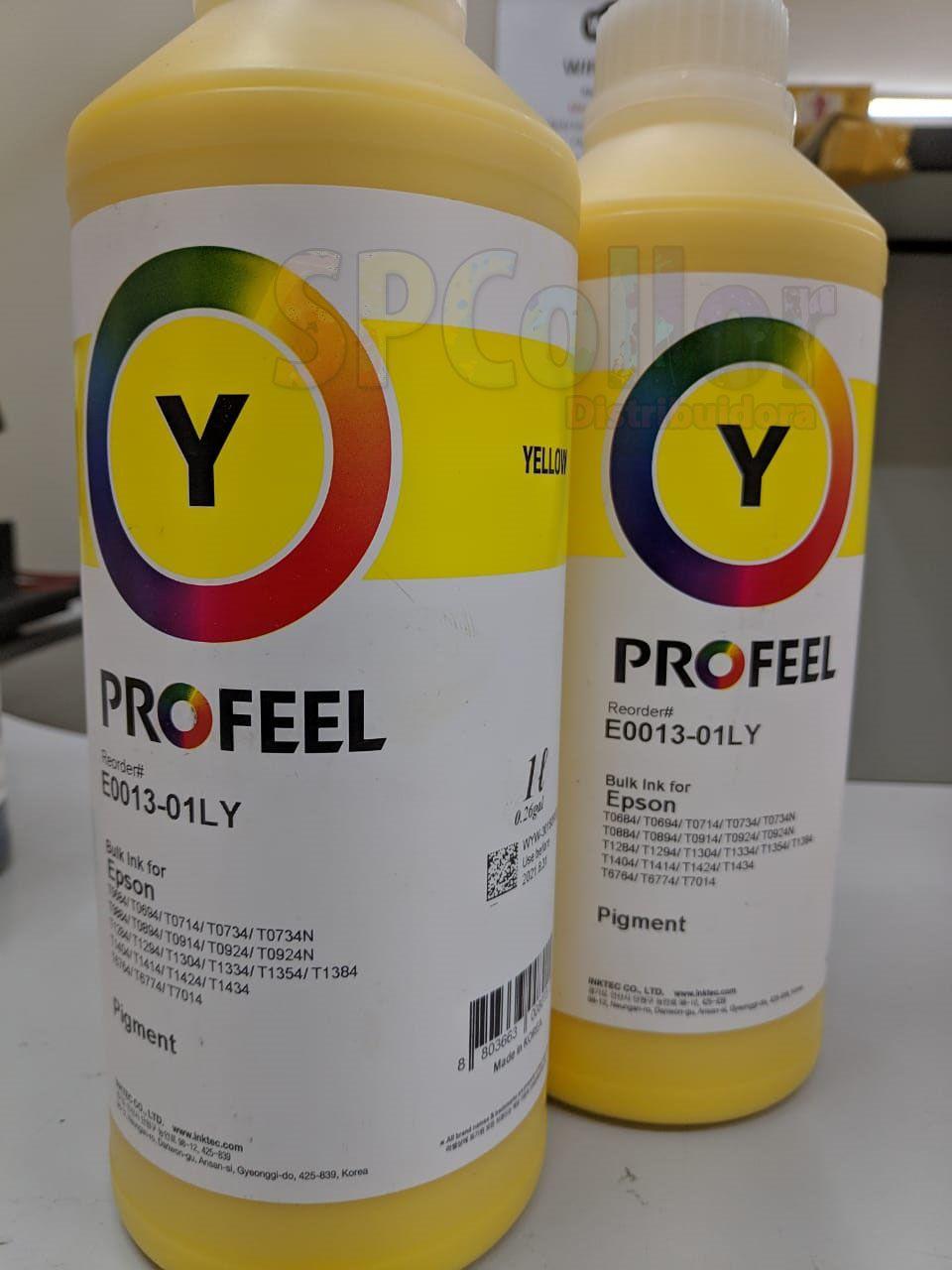 E0013 Litro Pigmentada Yellow Profeel InkTec