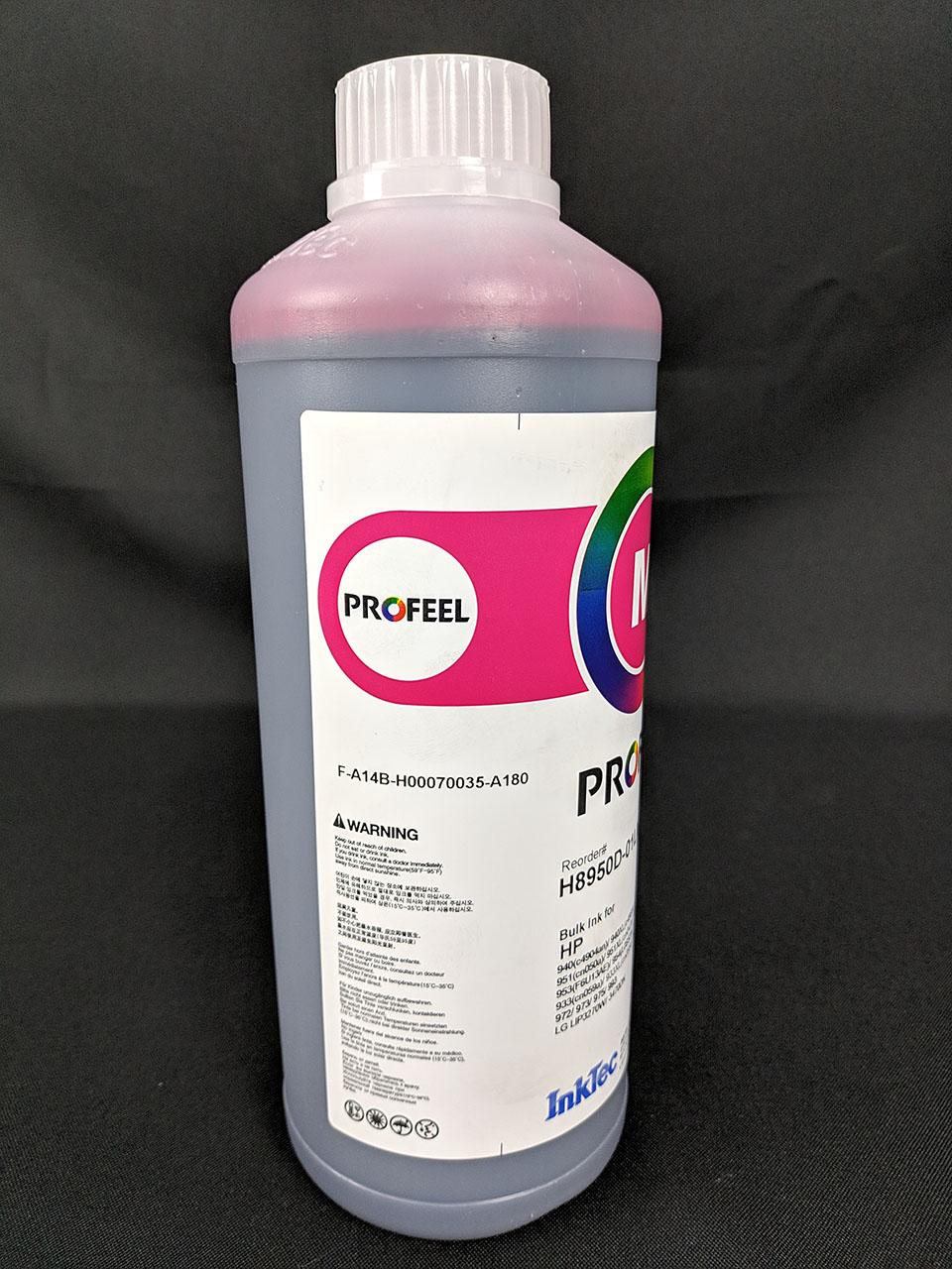 Tinta Corante Magenta Inktec Profeel para H8950 - Litros