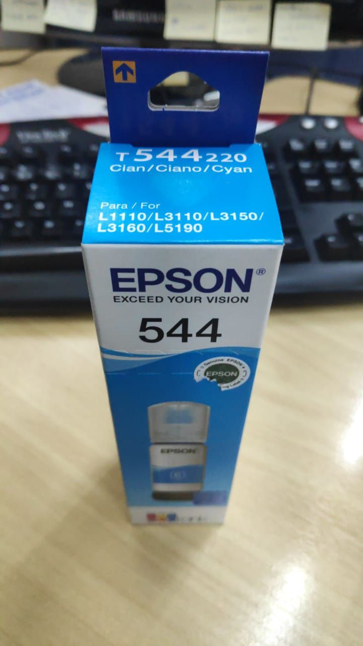 Tinta Epson Original Corante T544220 Ciano
