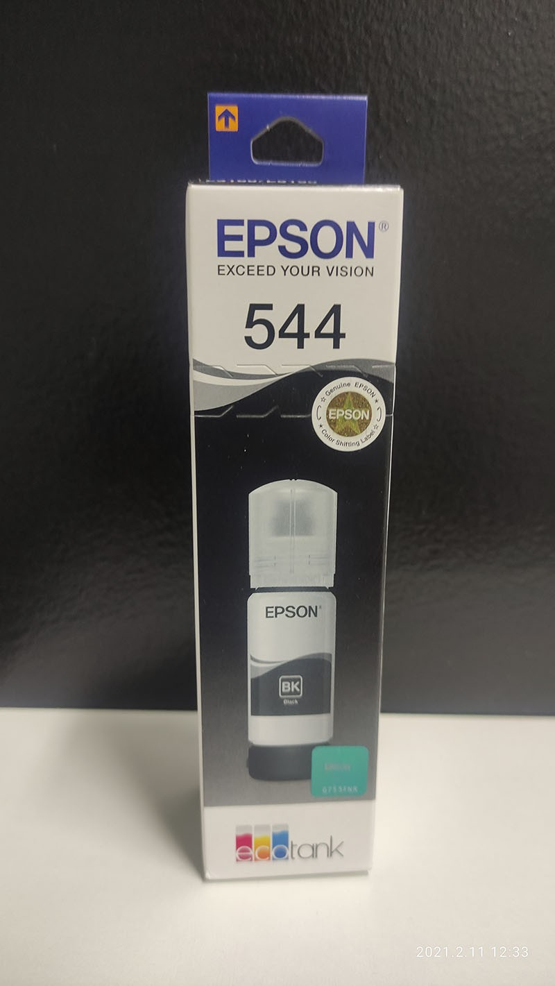 Tinta Epson Original Corante T544420 Black