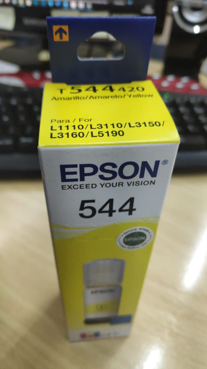 Tinta Epson Original Corante T544420 Yellow