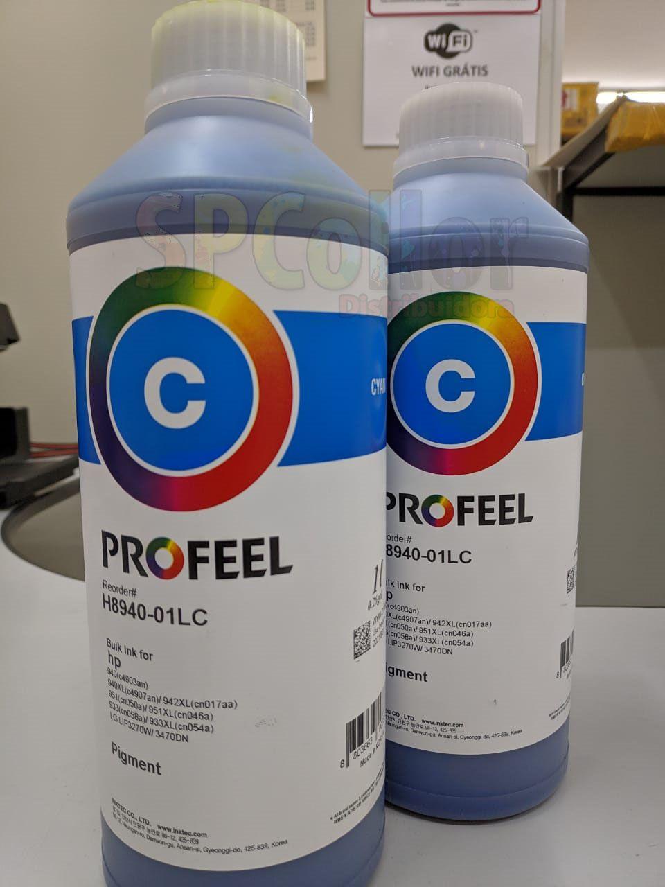 H8940 Tinta HP Pigmentada Cyan Inktec Profeel