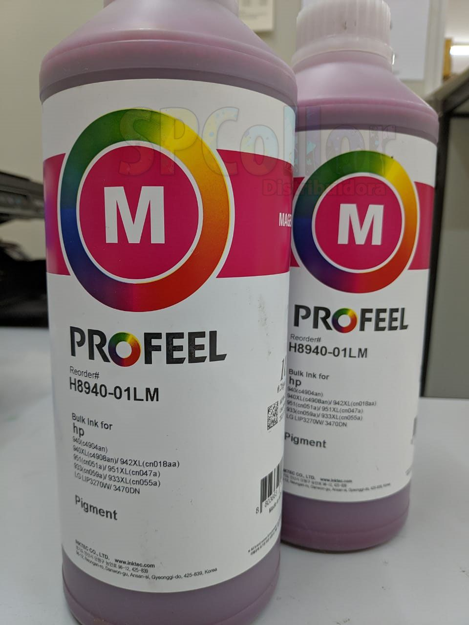 H8940 Tinta HP Pigmentada Magenta Inktec Profeel