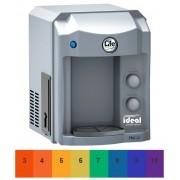 Filtro Purificador e refrigerador de Água Top Life HeOxi (Linha Alcalina Ionizada com Super Ozônio) Prata 110v/220v