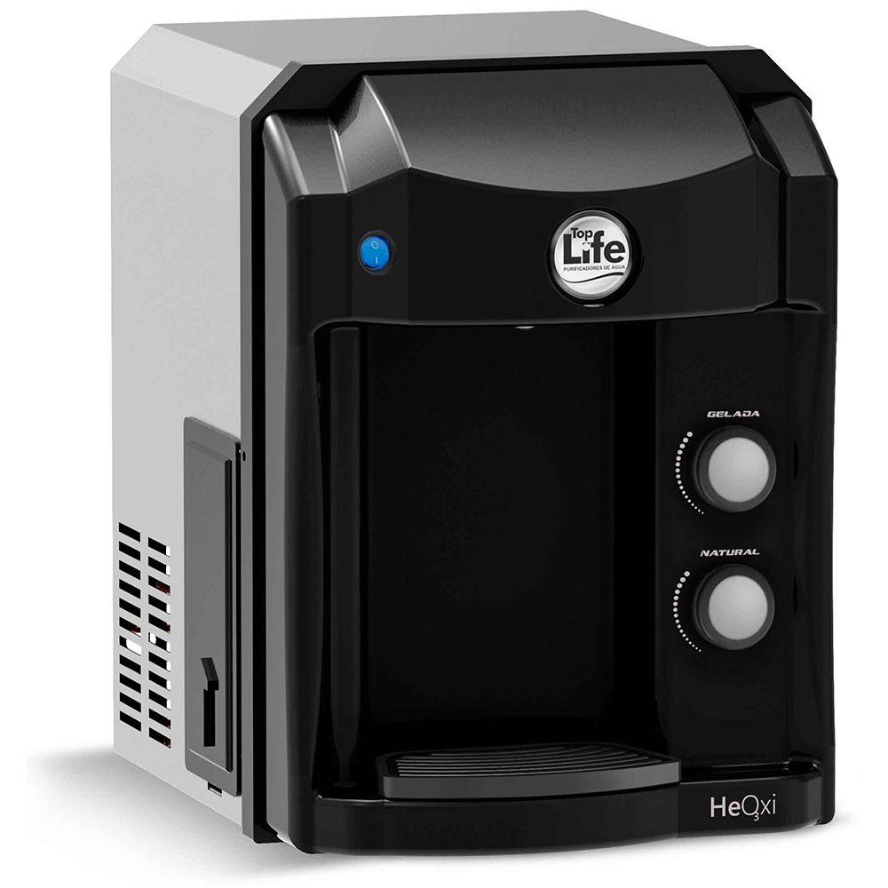 Filtro alcalino e ozônio Top Life - Purificador Refrigerado