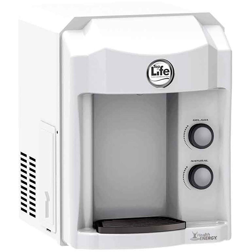 Filtro de água alcalina ionizada Top Life - Purificador Refrigerado