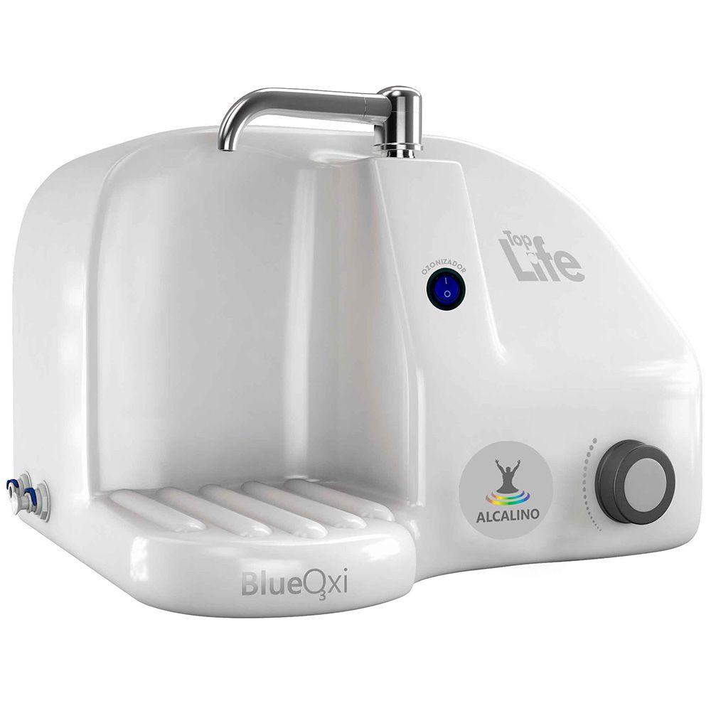 Purificador alcalinizador e ozonizador de água Top Life - Filtro Natural
