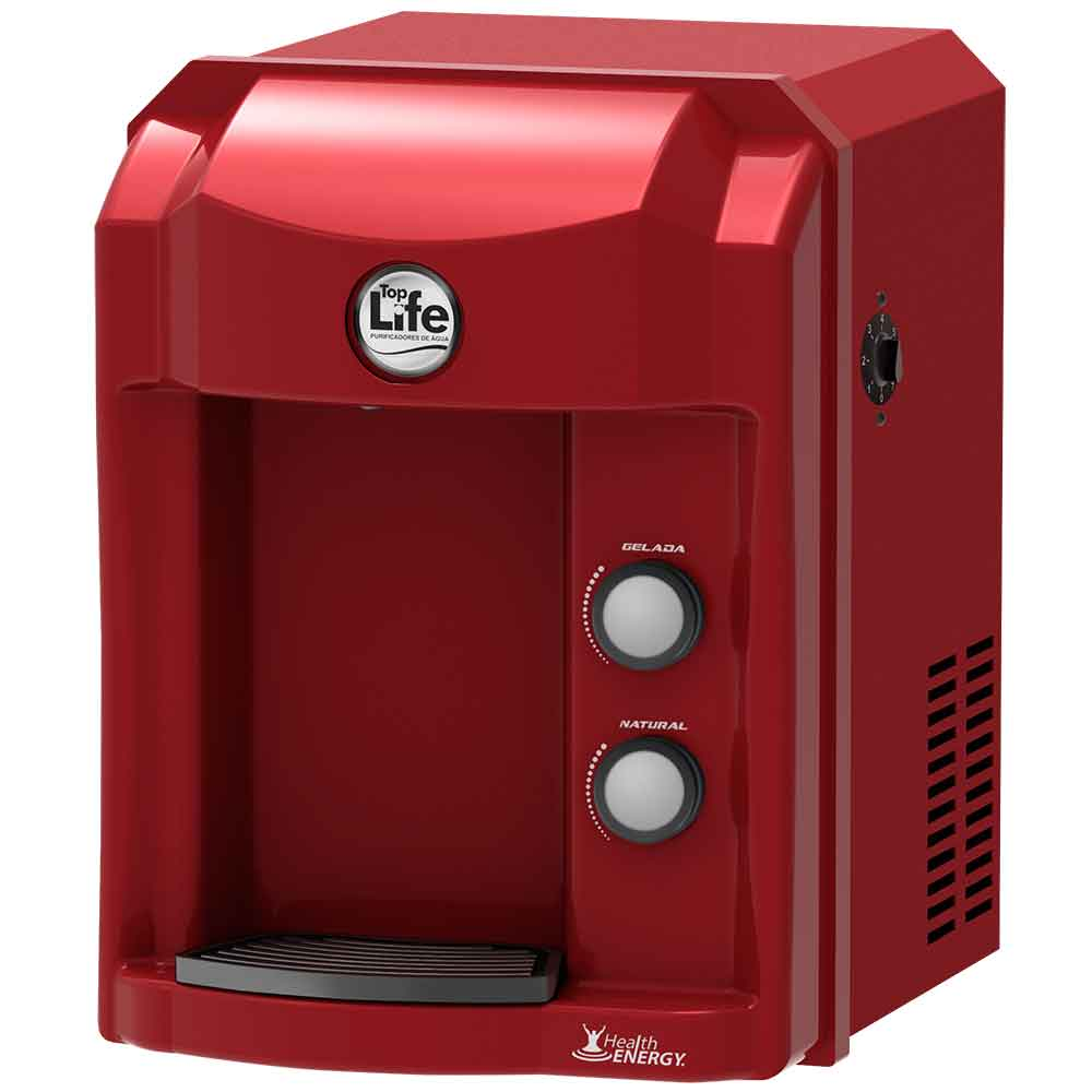 Purificador de água alcalina ionizada Top Life - Filtro Refrigerado