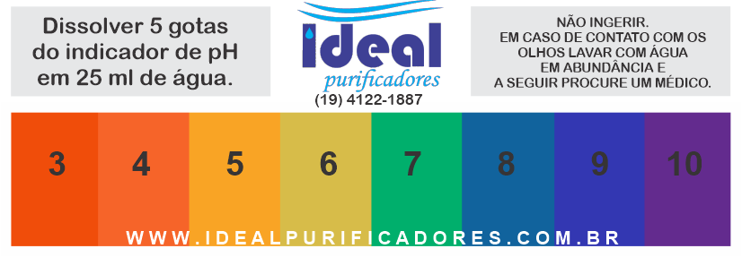 Reagente de PH Ideal