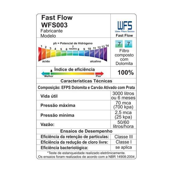 Refil Filtro compatível Latina Purimix, Puritronic, Puri Ice