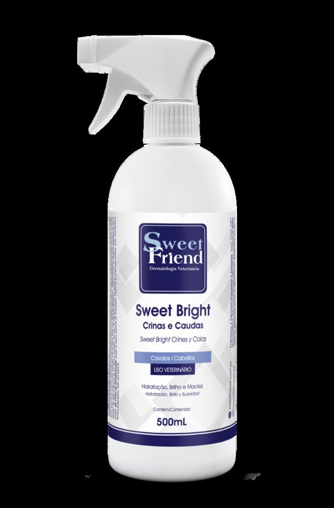 Abrilhantador Crinas e Caudas Sweet Bright - Cavalos - Sweet Friend 500ml